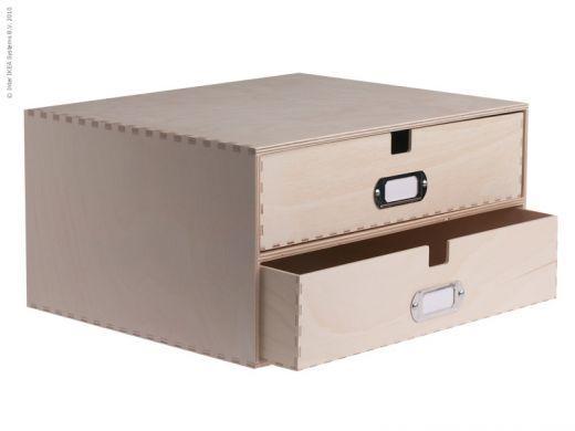 Ikea hack pintar de colores los cajones de varios - Cajones de madera ikea ...