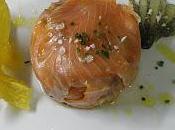 Tártar Salmones Crema Aguacate