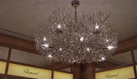 Lámpara de la boutique Chopard