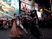Jedis Siths invaden Times Square