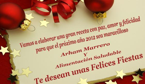 Feliz navidad y próspero año 2012
