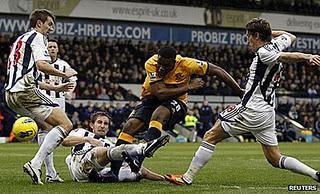 Un gol de Anichebe( 88´) vale al Everton la victoria ante el WBA