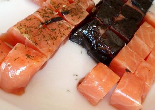 Surtido de salmones Carpier