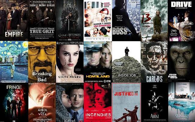 Lo mejor de 2011 en cine y television