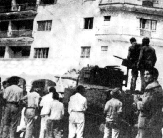 La rebelión militar del 1 de enero de 1958