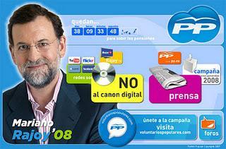 El PP tira a la basura su programa electoral