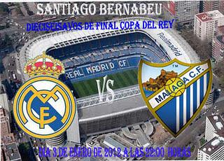 REAL MADRID  vs  MALAGA CF (Copa)