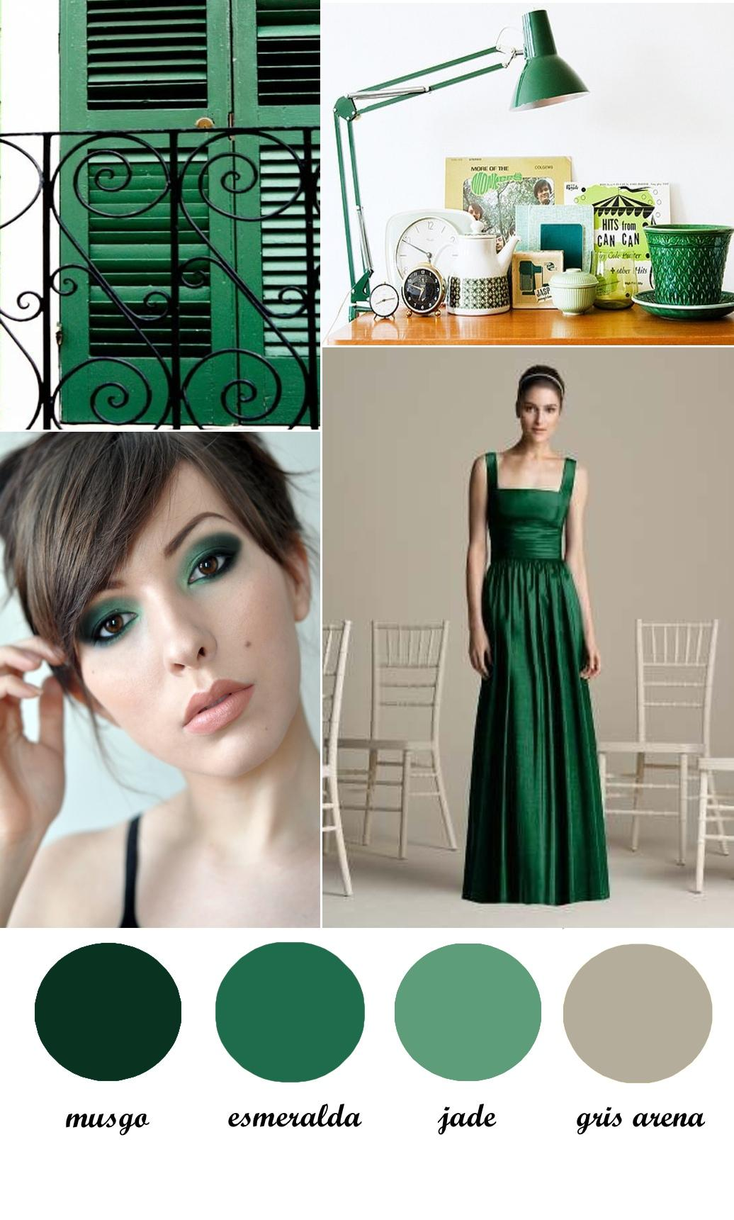 Colour Board #18. Think green