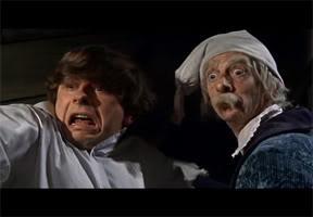 ALFRED (Roman Polanski) y ABRONSIUS (Jack MacGowran)