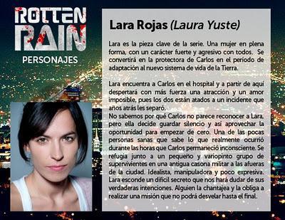 Rotten Rain presentación de personajes