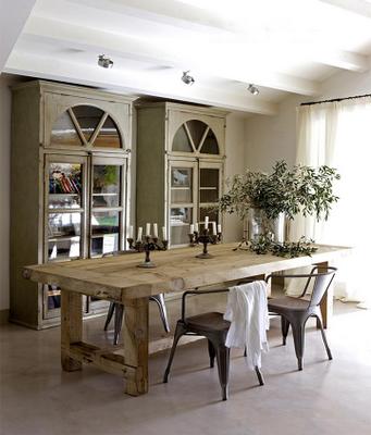 Grandes tablones para mesas paperblog for Mesas rusticas grandes
