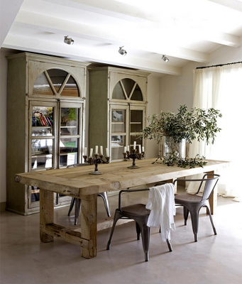mesas de cocina grandes. se vende dos mesas grandes con ...