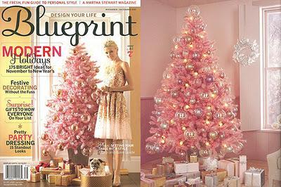 Horror o amor rbol de navidad rosa paperblog - Arboles de navidad rosa ...