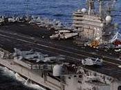Portaaviones EEUU entra estrecho Ormuz medio maniobras Irán
