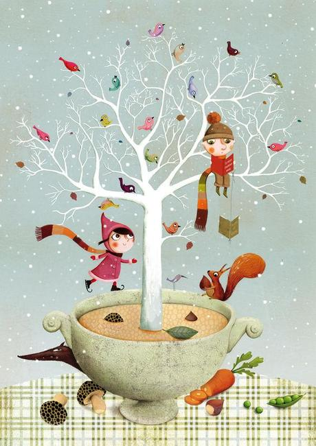 Ilustración de Marie Desbons