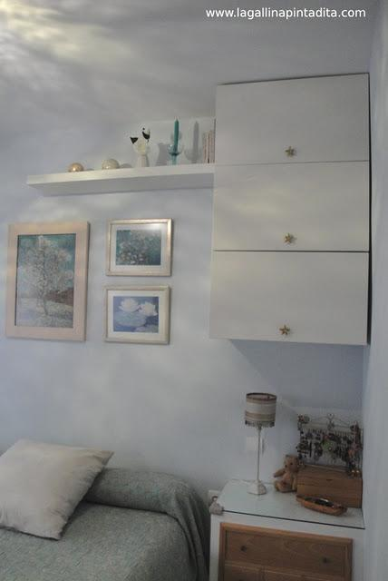 Ikea hack muebles de cocina en el dormitorio de gallinita for Muebles de cocina hacker