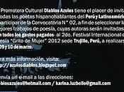 Concurso Latinoamericano Poesía Rumbo Grito Mujer Perú 2012
