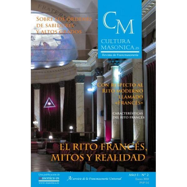 Revista CULTURA MASONICA  Nº 2/Enero 2010