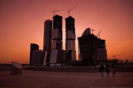 Nuevos edificios de gran altura en Moscú
