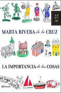 La importancia de las cosas, de Marta Rivera de la Cruz