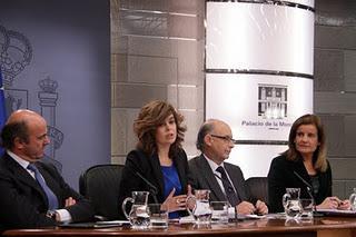 La Primera Decisión del Gobierno Rajoy