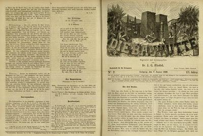 Die Bauhütte, la obra de Josef Findel