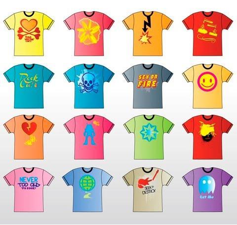 9ff654c8cc674 20 Diseños vectoriales de camisetas - Paperblog