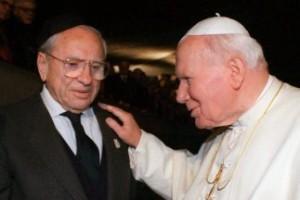 El amigo judío del papa Juan Pablo II fallece cerca de Roma