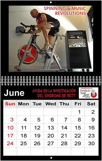 Breaking Down Limits presenta el Calendario 2012 - PhotoSport Gallery a beneficio de la Fundació Sant Joan de Déu para la ayuda en la investigación del Síndrome de Rett - Sexta entrega: Junio 2012