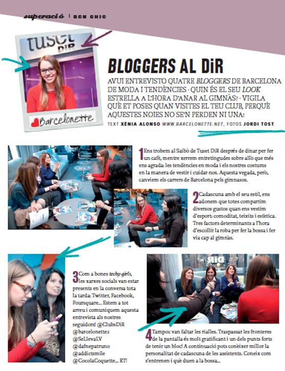 Entrevista a bloggers de Barcelona para Clubs Dir