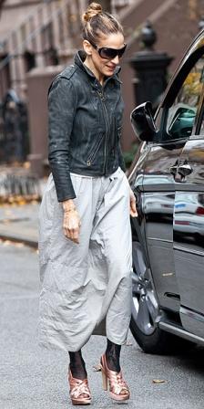 Sarah Jessica Parker, estilosa si, pero no siempre...