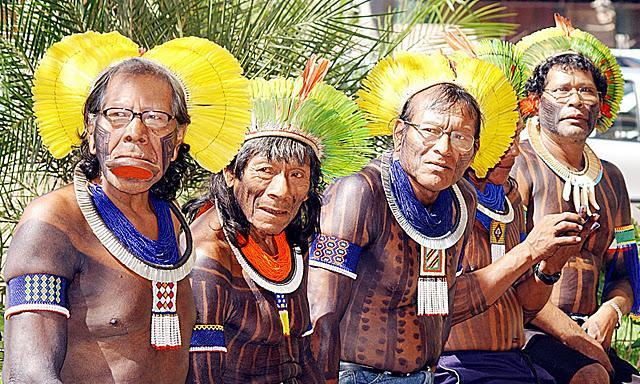 La reserva de los Kayapo