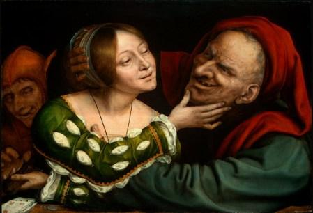 Ill-Matched Lovers 1525 by Quentin Massys