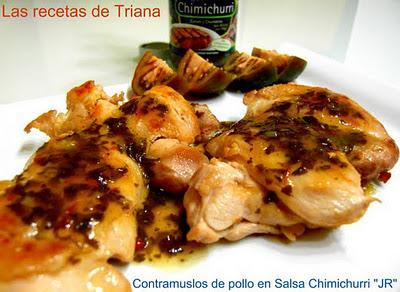 Contramuslos de pollo en Salsa Chimichurri