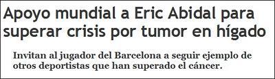 Visca Fútbol - Éric Abidal