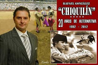 CHIQUILÍN CUMPLE 20 AÑOS DE ALTERNATIVA