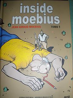 Inside Moebius tomo 1 (2009) por Jean Giraud Moebius