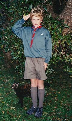 Remiel, 8 años. Nueva Zelanda (1997)