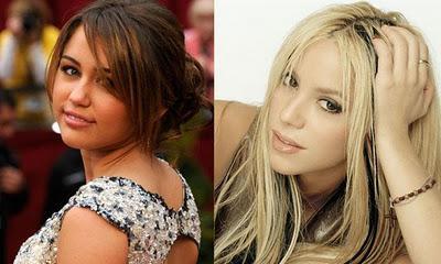 Shakira y Miley Cyrus juntas por causa benéfica