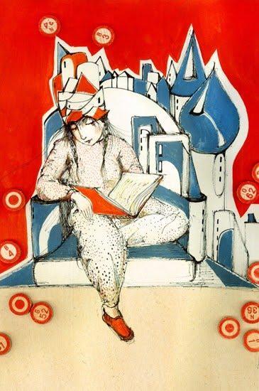 Ilustración de Darja Charapova