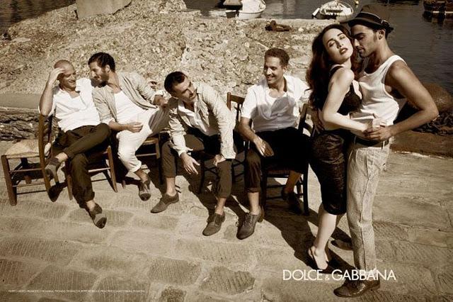 Dolce & Gabbana 2012 ad Campaign - La Famiglia -
