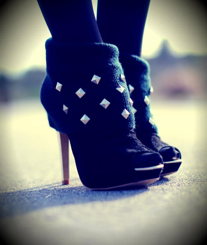 Soon: studs on my feet