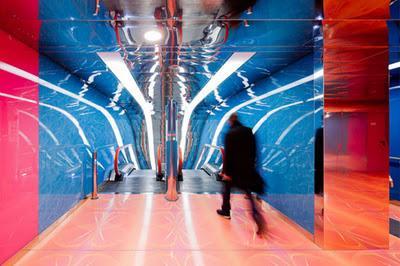 El metro diseñado por Rashid