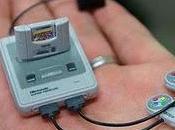 Super Nintendo pequeña universo.
