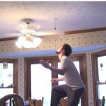 El truco del ventilador de techo y el caramelo