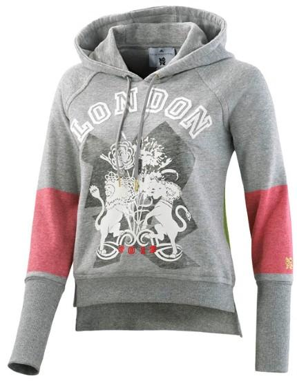 Stella McCartney for Adidas Grey Hoodie