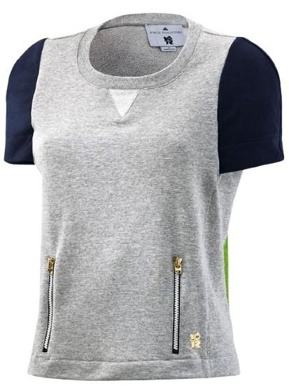 Stella McCartney for Adidas Grey top