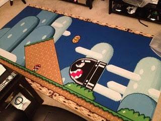 Alfombra de Super Mario World