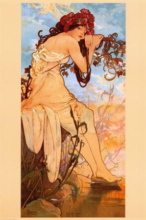 Pintores y pinturas: hoy, Alphonse Mucha