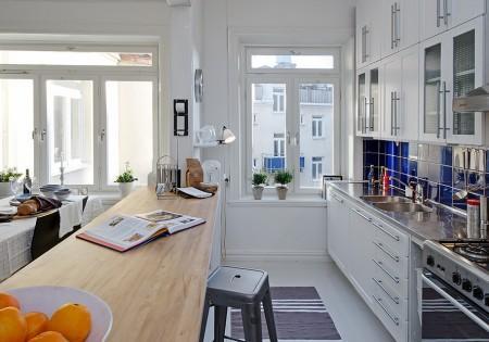Una cocina abierta al sal n paperblog for Cocinas abiertas al salon pequenas
